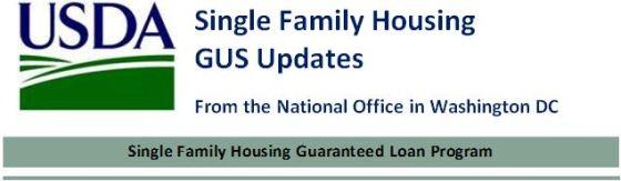 USDA Single Family Housing